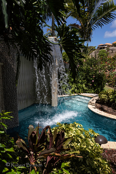 Waterfall at Sandals