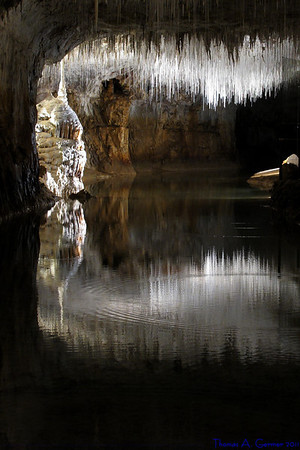 The Caves of Choranche in the Rhône-Alpes section of France
