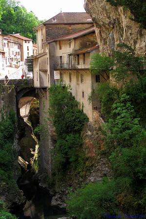 Pont-en-Royans, France.
