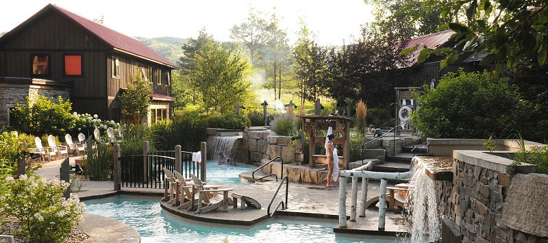 Scandinave Spa in Grey County is a Nordic spa well worth a trip to Grey County.