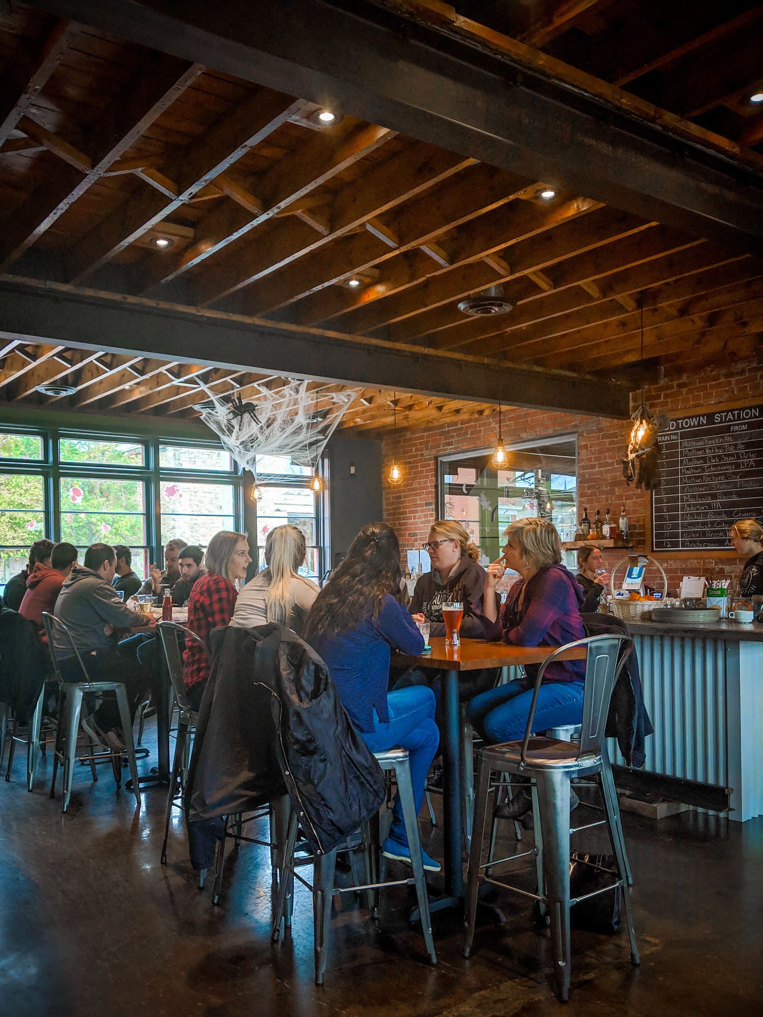 Mudtown Station is a brewery on the Grey County Saints and Sinners Trail.