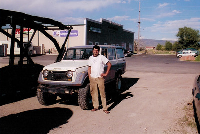 My in 2006 with a 1971 turbo diesel Toyota Land Cruiser that I built from scratch with a 4 cylinder Cummins turbo diesel into that ran on biodiesel / vegetable oil.  Because it was a fuel efficient it got about 2:1 better CO2 emissions than a Toyota Prius running on this fuel from plants.