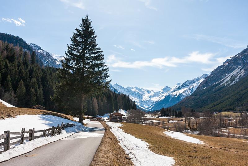 Spaziergang im Gschnitztal