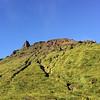 Le volcan de la Soufrière, sous le soleil :)