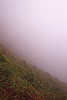 On the foggy slopes of La Soufriere
