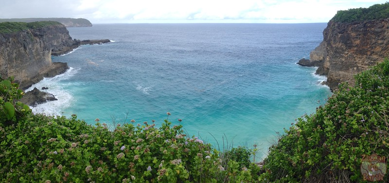 View cliffs Guadeloupe 1