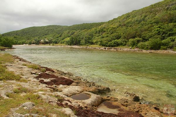 lagoon Porte Enfer, Guadeloupe