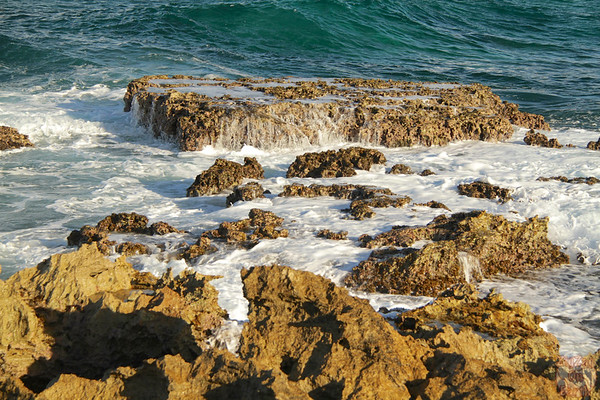 Waves at Castles Headland Guadeloupe, Pointe des chateaux photo 4