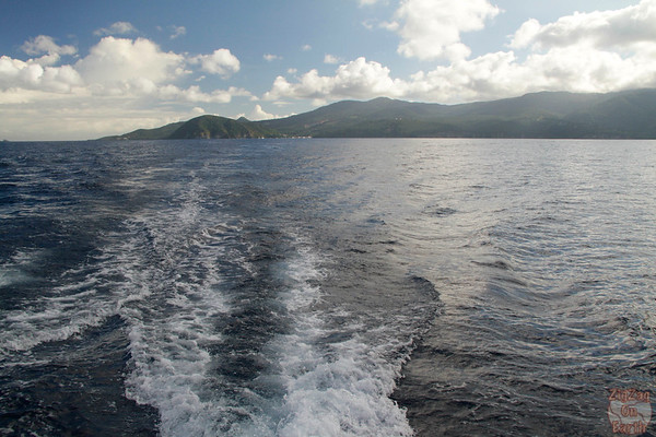 leaving the coast guadeloupe