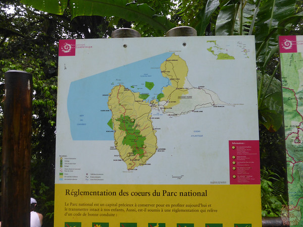 Map - National Parks in Guadeloupe