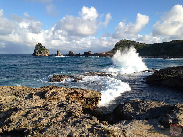 Castles Headland Guadeloupe, Pointe des chateaux photo 5
