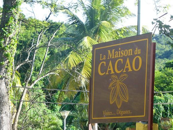 sign Maison du Cacao Pointe Noire Guadeloupe