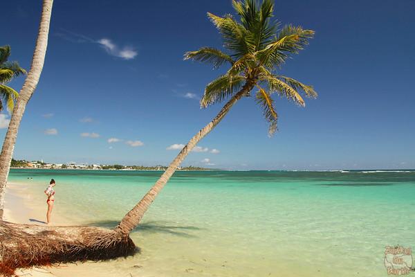 beach La Caravelle, Guadeloupe