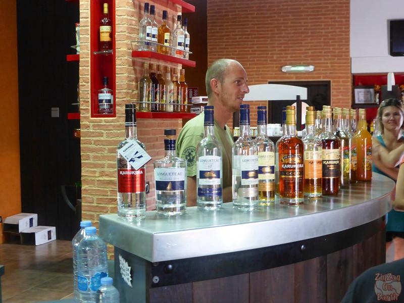 Longueteau rum tasting 2