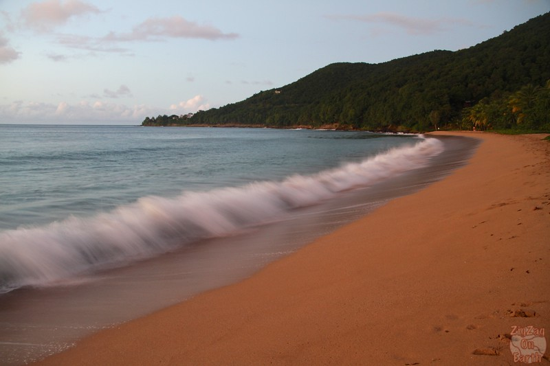 Best photo Guadeloupe: orange sand beach