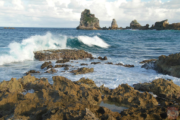 Castles Headland Guadeloupe, Pointe des chateaux photo 3