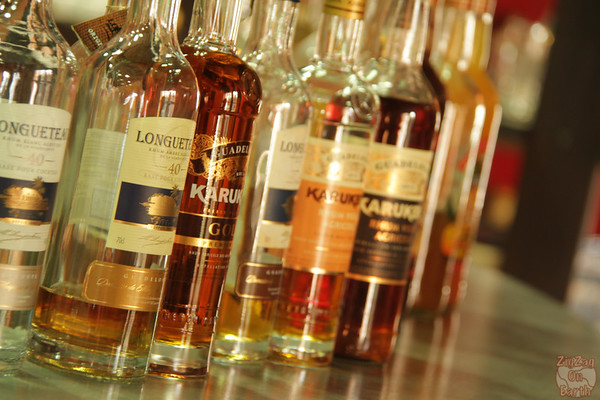 Longueteau rum tasting 3