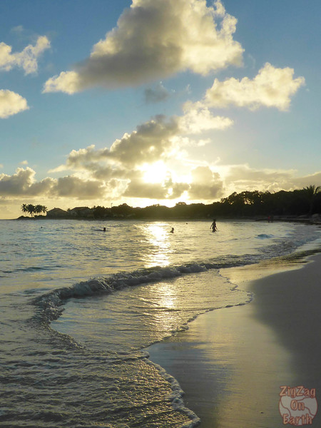 Sunset at Raisins clairs beach, Guadeloupe photo 2