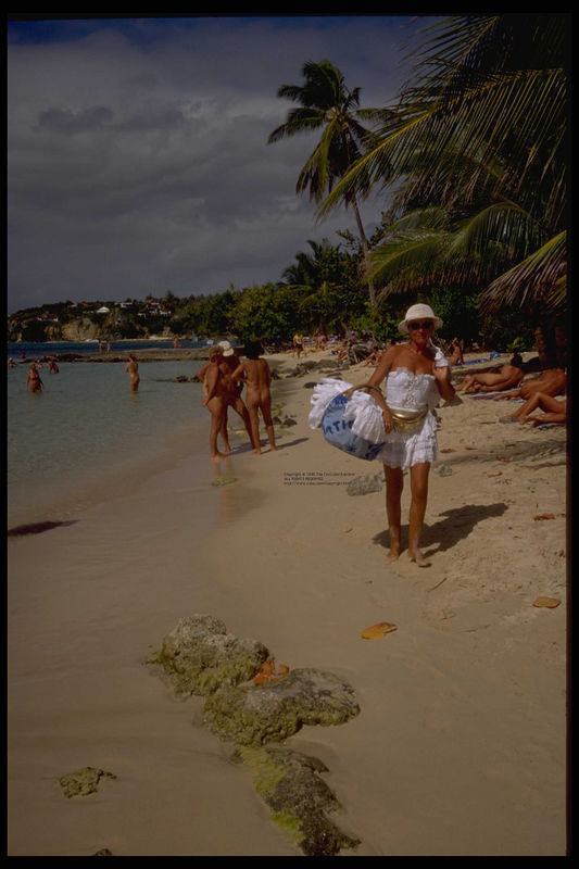 Guadeloupe's nude beaches 1996
