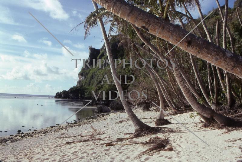 A view of Tumon Bay in Guam island.