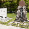 Headstones at the South Pacific Memorial Peace Park in Yigo, Guam island.