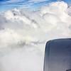 Airplane Shadow on Flight to Houston