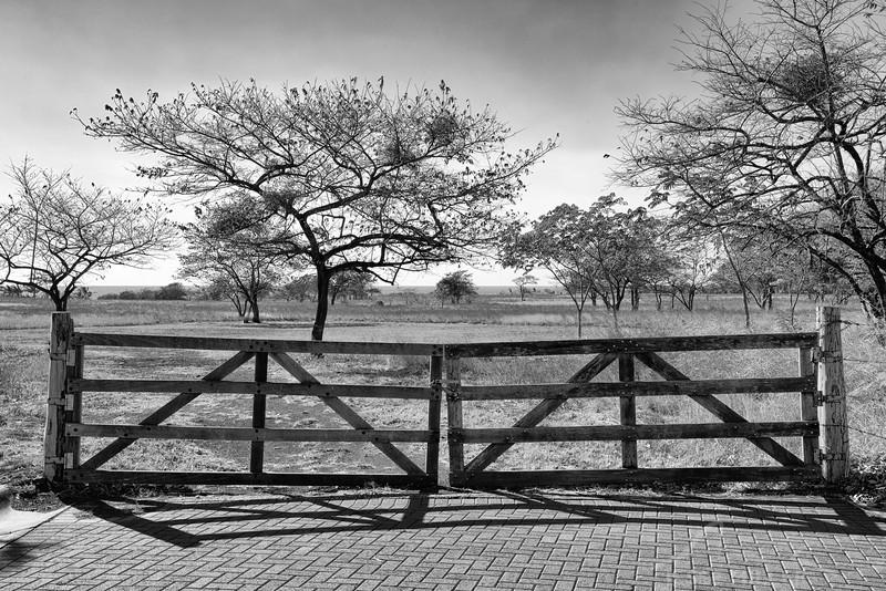 Gate near JW Marriott