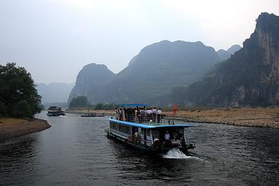 Guilin to Yangshuo Cruise