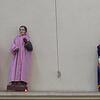 Saint statues in Santiago Atitlan Church