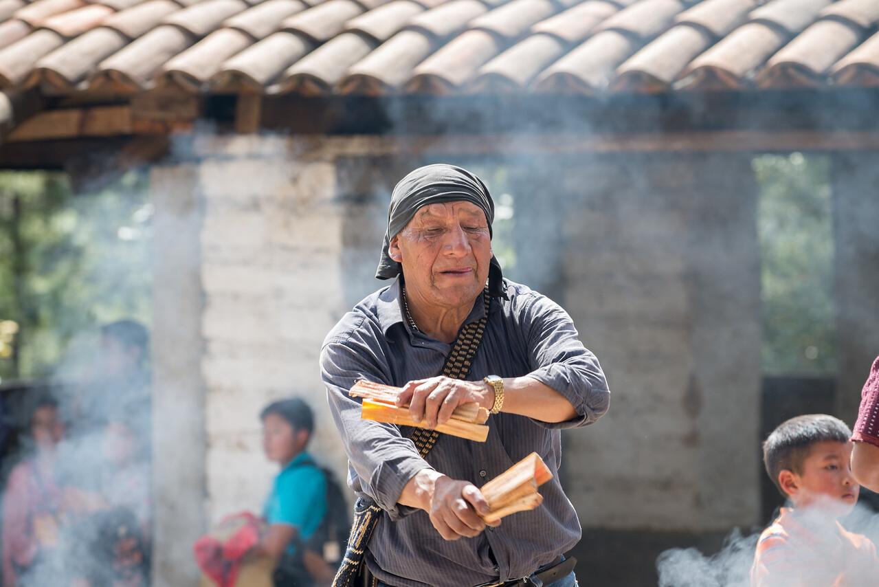 Mayan Shaman,  Chichicastenango - Guatemala
