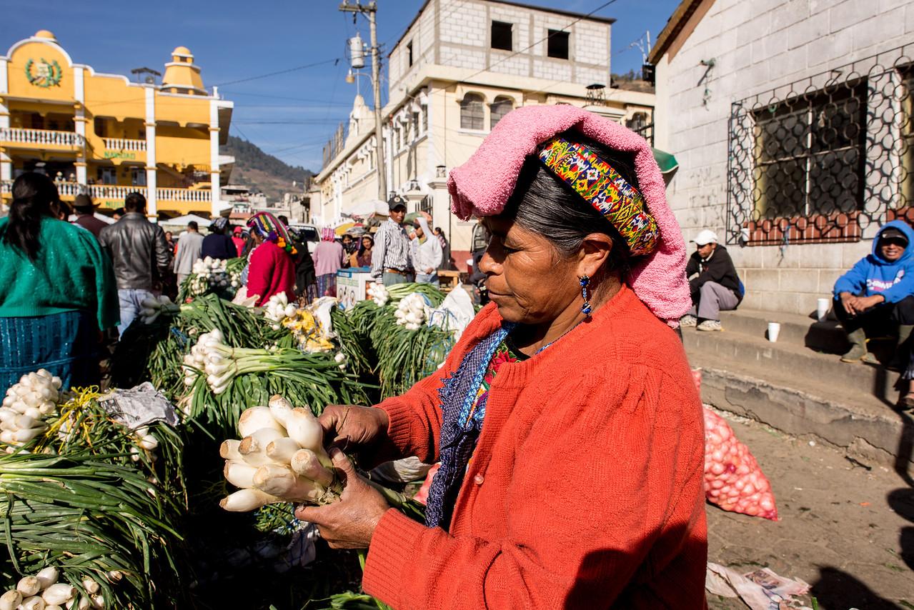 Almolonga market Quetzaltenango - Guatemala
