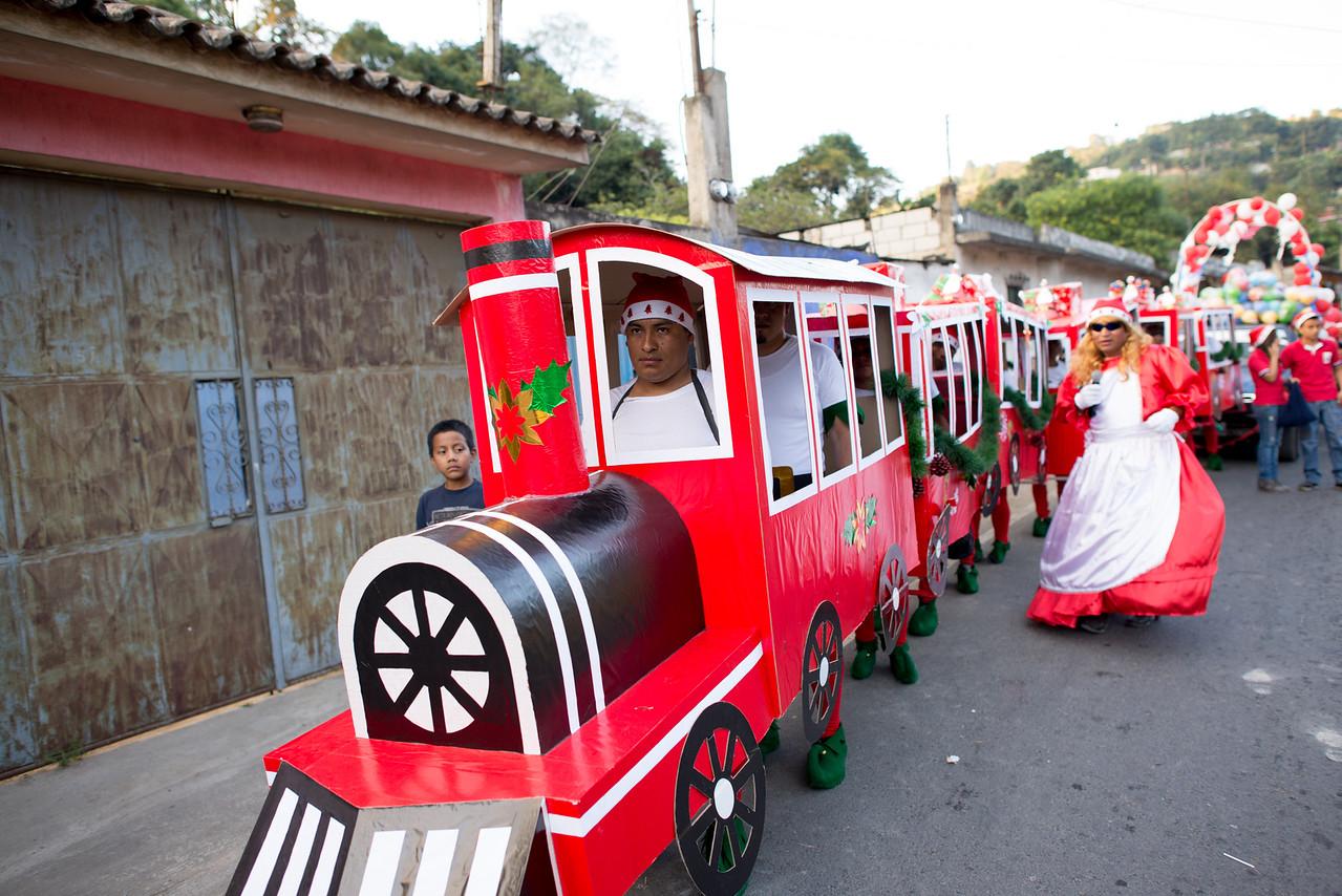 Local Christmas celebration - Guatemala