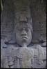 Detail of stela at Quirigua, Guatemala