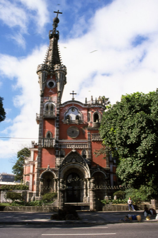 Cathedral in Guatemala City, Guatemala.