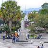 City square in Coban