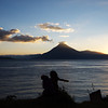 cosmic convergence ~ sunset on Atitlan