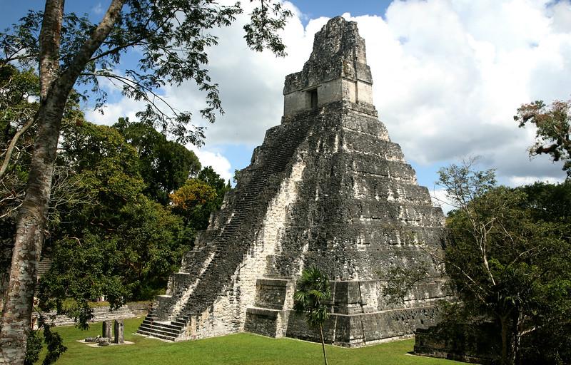 Templo Gran Jaguar, Tikal (734 A.D.).