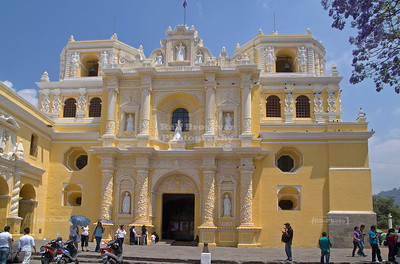 The church of La Merced (1548), Anitgua Guatemala