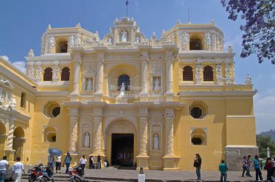 The church of La Merced (1548), Anitgua Guatemala
