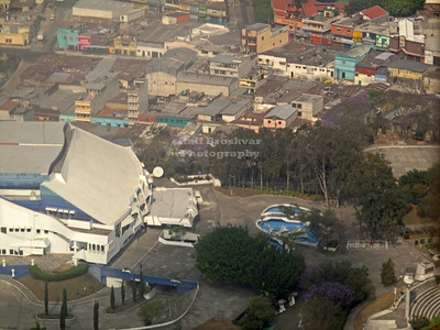 Aerial view of Guatemala City