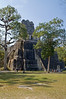 Temple of the Masks (Temple II)<br /> Pre-Columbian Maya Site at Tikal Peten National Park, Guatemala,<br /> a UNESCO World Heritage Site