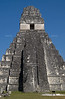Great Jaguar Temple at the pre-Columbian Maya Site at Tikal National Park, Guatemala, a UNESCO World Heritage Site