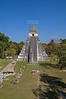 Great Jaguar Temple<br /> Pre-Columbian Maya Site at Tikal National Park, Guatemala,<br /> a UNESCO World Heritage Site