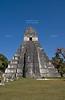Great Jaguar Temple (Temple I)<br /> Pre-Columbian Maya Site at Tikal National Park, Guatemala,<br /> a UNESCO World Heritage Site