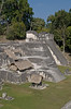 North Acropolis as seen from Temple II<br /> Pre-Columbian Maya Site at Tikal National Park, Guatemala,<br /> a UNESCO World Heritage Site