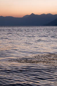 Sunrise in Lake Atitlan
