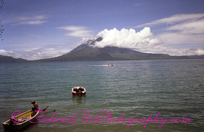 Lake Atitlan taken from Panajachel.