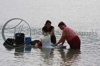 Every night the women come down to the lake to do the laundry. They though I was crazy! El Remate, Guatemala.