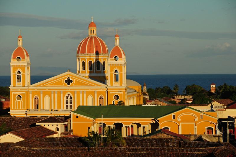 Granada Cathedral, Granada. Nicaragua