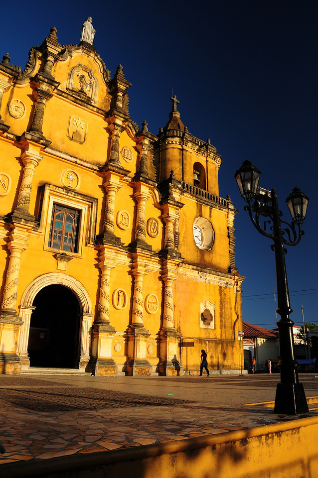 Iglesia San Juan Bautista, Leon. Nicaragua